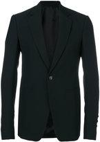 Rick Owens one button blazer - men - Cotton/Cupro/Viscose/Virgin Wool - 50