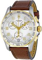 Victorinox Men's 241510 Silver Dial Chronograph Watch
