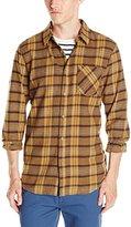 Volcom Men's Gaines Long-Sleeve Flannel Shirt