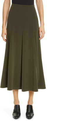Co Pleated Midi Skirt