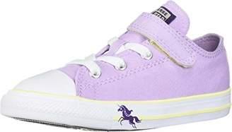 Converse Girls' Chuck Taylor All Star Unicorn Print Velcro Low Top Sneaker