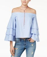 Endless Rose Tiered Off-The-Shoulder Top