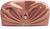 Jimmy Choo Vivien small satin clutch
