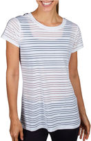 Jockey Short-Sleeve Mesh Striped T-Shirt