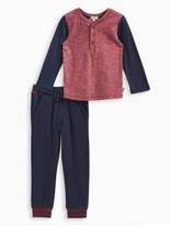 Splendid Little Boy Triblend Henley with Pant Set