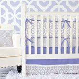 Caden Lane Mod Lattice Crib Bedding in Lavender
