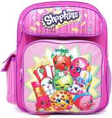 "Shopkins School Backpack Medium 12"" Girls Book Bag"