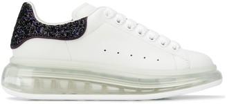 Alexander McQueen glitter-heel Oversize sneakers