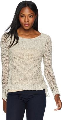 BB Dakota Women's Judd Two Tone Pullover Sweater