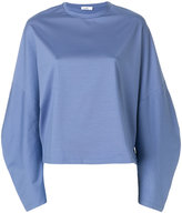 Jil Sander oversized sleeves blouse