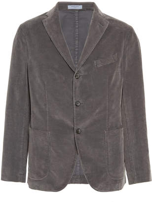 Boglioli Stretch Cotton-Blend Corduroy Blazer