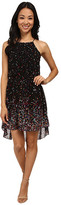 Gabriella Rocha Jessica Halter Chiffon Dress with Cutout Back