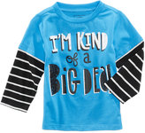First Impressions Big Deal-Print T-Shirt, Baby Boys (0-24 months), Created for Macy's