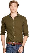 Ralph Lauren Slim-fit Cotton Twill Shirt