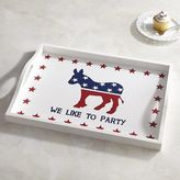 Pier 1 Imports Donkey Election Party Tray