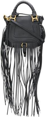Chloé mini Marcie fringed handbag