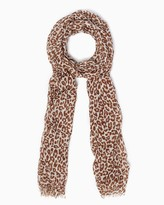Charming charlie True Leopard Scarf