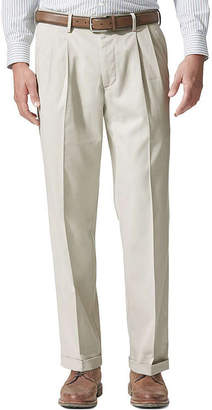 Dockers Relaxed Fit Comfort Khaki Cuffed Pants - Pleated D4