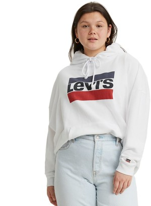 Levi's Plus Size Logo Hooded Sweatshirt