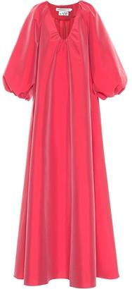 BERNADETTE George taffeta maxi dress