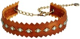 Leather Rock N280 Necklace