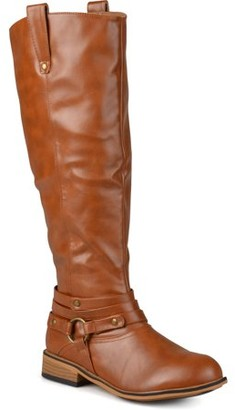 Brinley Co. Brinely Co. Women's Mid-calf Wide Calf Riding Boots