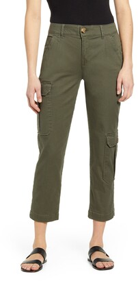 Wit & Wisdom Ab-Solution Stretch Cotton Crop Utility Pants