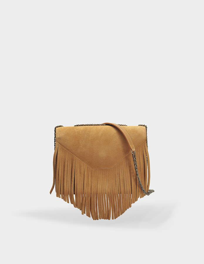 Gerard Darel Lucky Bag in Tan Leather
