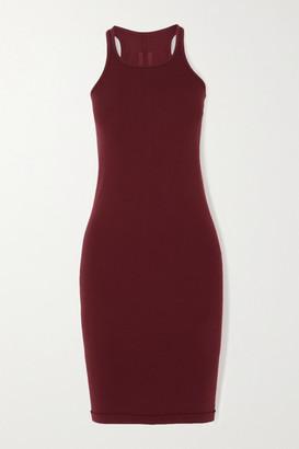 Rick Owens Abito Cotton-jersey Mini Dress - Red