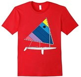 JET Sunfish Sailboat Tee Shirt colorful