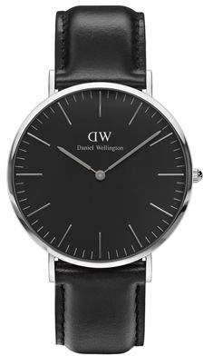 Daniel Wellington 40mm Classic Black Sheffield Watch