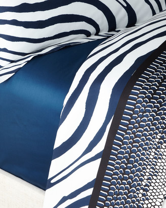 Roberto Cavalli Frame Zebrage Queen Fitted Sheet