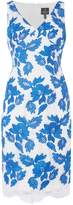 Adrianna Papell Sleeveless embroidered shift dress