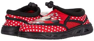 Josmo Kids Minnie Aqua Sock (Toddler/Little Kid) (Black/Red) Girls Shoes
