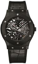 Hublot Classic Fusion Ultra-Thin Skeleton All Black Watch