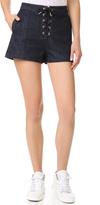 Rag & Bone Lace Up Shorts