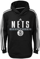 adidas Boys 8-20 Brooklyn Nets Playbook Hoodie