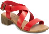 Pierre Dumas Red Beril Sandal