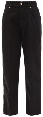 Golden Goose Kim Straight-leg Jeans - Womens - Black