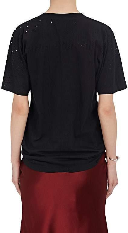 Area Women's Rhinestone-Embellished Cotton T-Shirt
