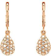 Finesse Swarovski Crystal Teardrop Earrings