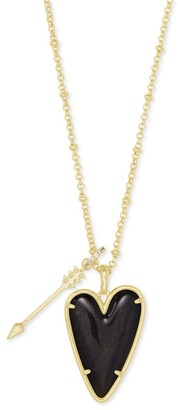 Kendra Scott Ansley Heart Long Pendant Necklace