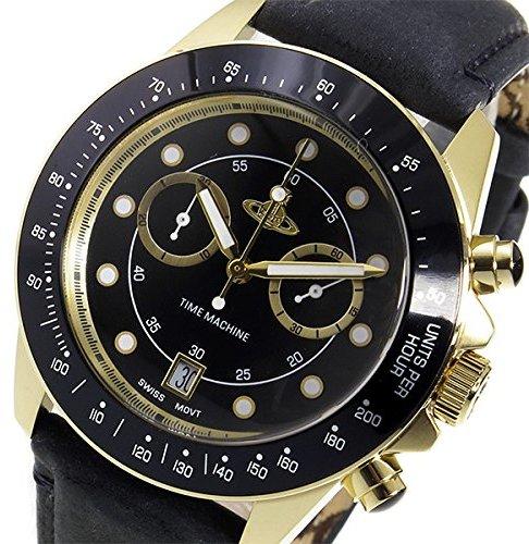 Vivienne Westwood Chronograph Quartz Men's Watch VV118BKBK Black