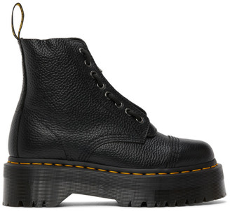 Dr. Martens Black Sinclair Zip Boots