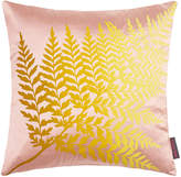 Clarissa Hulse Fern Ombre Cushion - 45x45cm - Oyster/Quince