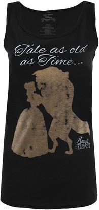 Disney Women's Tale Old As Time Vest Top
