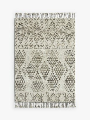 John Lewis & Partners Hand Knotted Fez Berber Style Rug, L120 x W180 cm