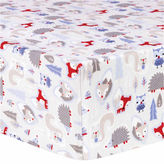 TREND LAB, LLC Trend Lab Lilac Winter Forest Flannel Crib Sheet