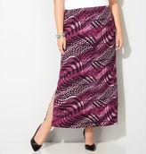 Avenue Swirl Maxi Skirt