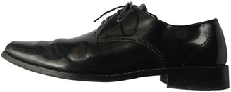 Junya Watanabe Black Leather Lace ups
